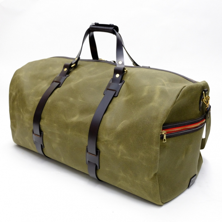 Vintage Canvas Duffle Holdall, large