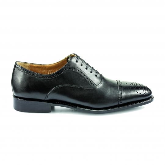Prime Shoes Hamburg Calf Black