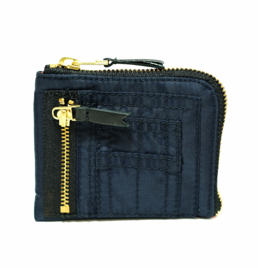 Navy Bomber Wallet