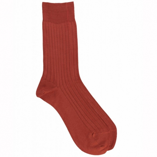 Red Socks with Yellow Stripes