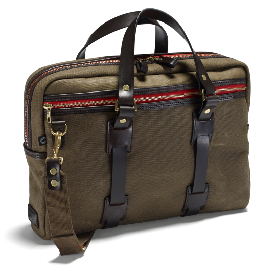 Vintage Laptop Bag, olive