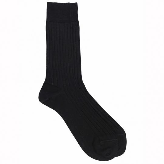 purple Socks with yellow dots