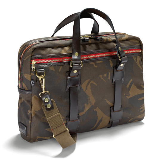 Vintage Laptop Bag, camouflage