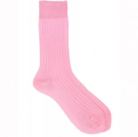 purple suit socks with grey stripes